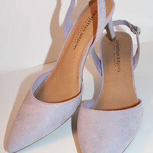Christian Siriano for Payless Heel Lilac 8 New